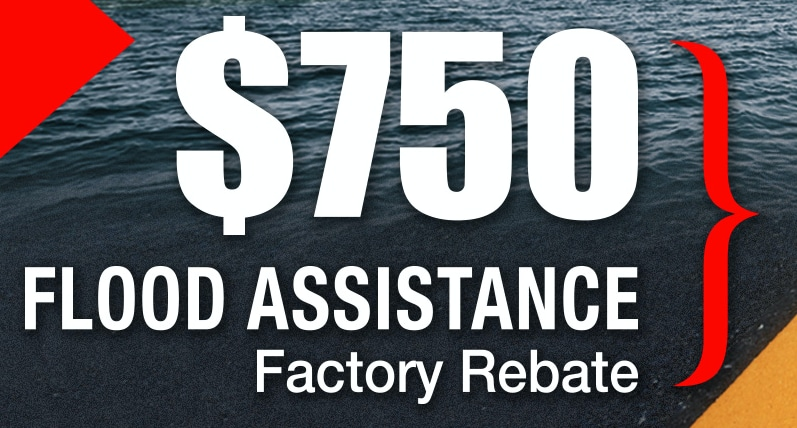 750 FLOOD ASSISTANCE REBATE