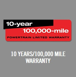 10 Years 100k Mile Warranty