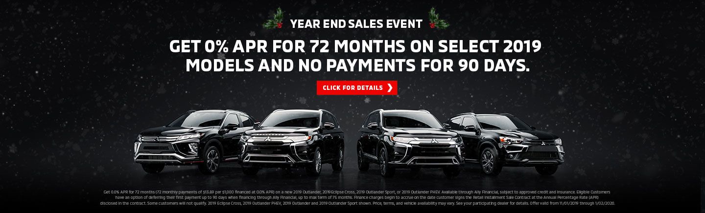 Mitsubishi Year End Sales Event in Thornton CO