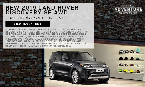 New 2019 Land Rover Discovery SE AWD