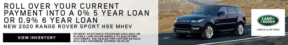 New 2020 Range Rover Sport HSE MHEV
