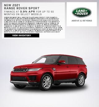 New 2021 Range Rover Sport
