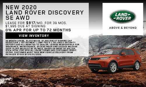 New 2020 Land Rover Discovery SE AWD