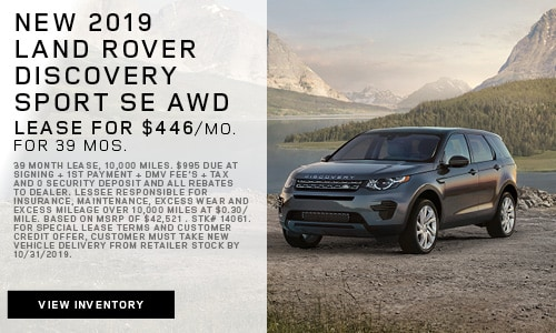 New 2019 Land Rover Discovery Sport SE AWD
