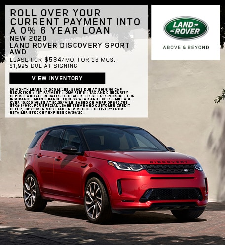 New 2020 Land Rover Discovery Sport AWD
