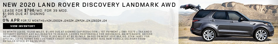 New 2020 Land Rover Discovery LandMark AWD