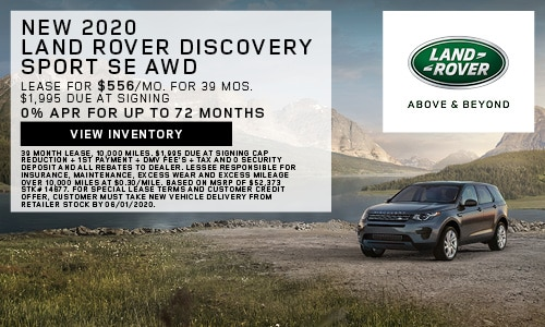 New 2020 Land Rover Discovery Sport SE AWD