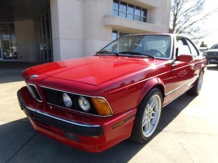 1988 BMW 6 Series 635CSi Coupe