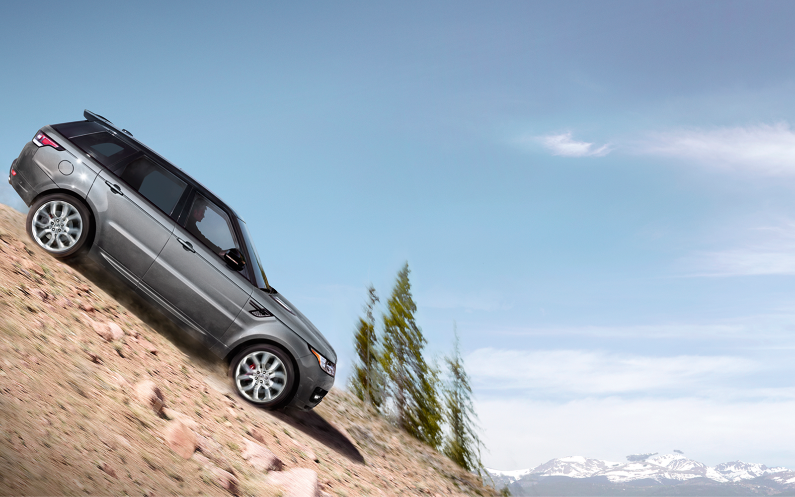 Range Rover Sport Performance and control