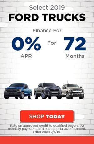 June | Select 2019 Ford Truck Models