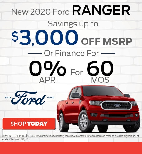 New 2020 Ford Ranger