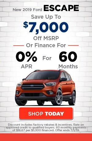 June | New 2019 Ford Escape