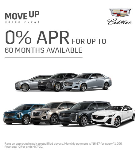 0% APR For Up To 60 Months Available