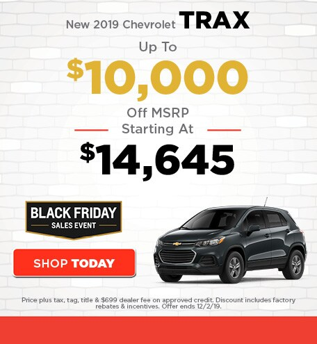 New 2019 Chevrolet Trax