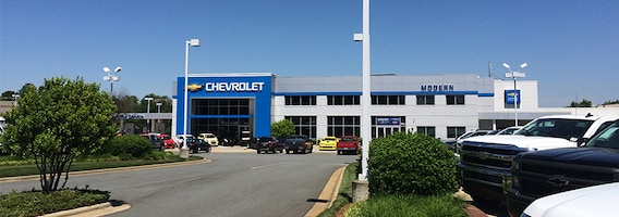 Modern Chevrolet Winston Salem Nc >> About Modern Chevrolet New Chevrolet And Used Car Dealer