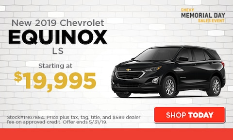 May | New 2019 Chevrolet Equinox
