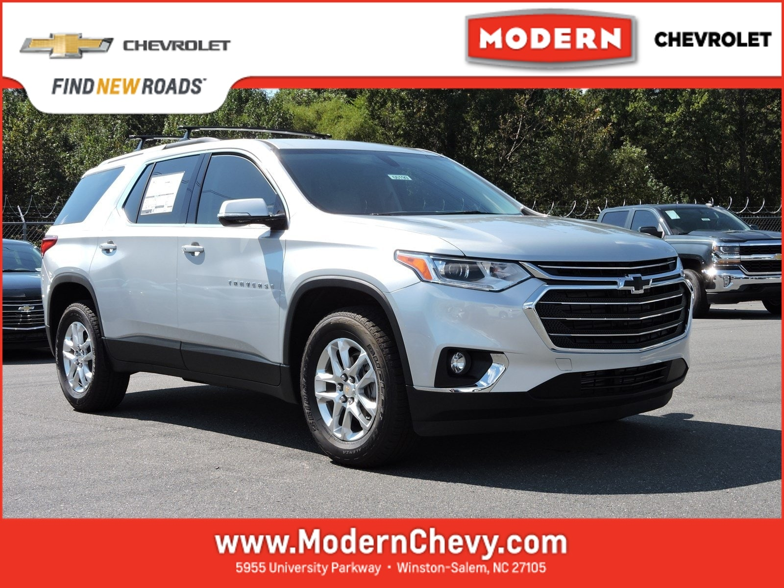 New 2018 Chevrolet Traverse LT Cloth w/1LT SUV Winston Salem, North Carolina