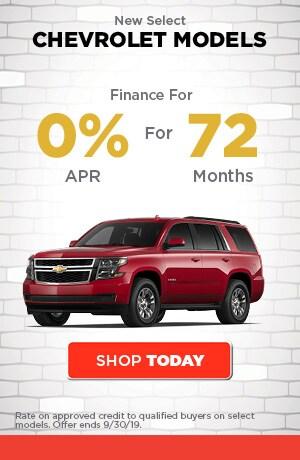 New Select Chevrolet Models
