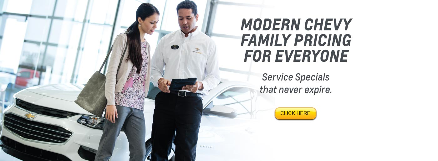 Modern Chevrolet | Winston Salem NC Chevy Dealer near High Point ...
