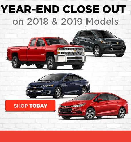 New 2018 & 2019 Chevrolet Models Must Go!