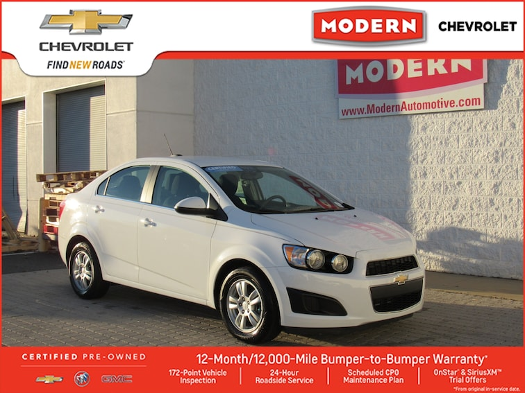 Certified Used 2016 Chevrolet Sonic For Sale Boone Nc
