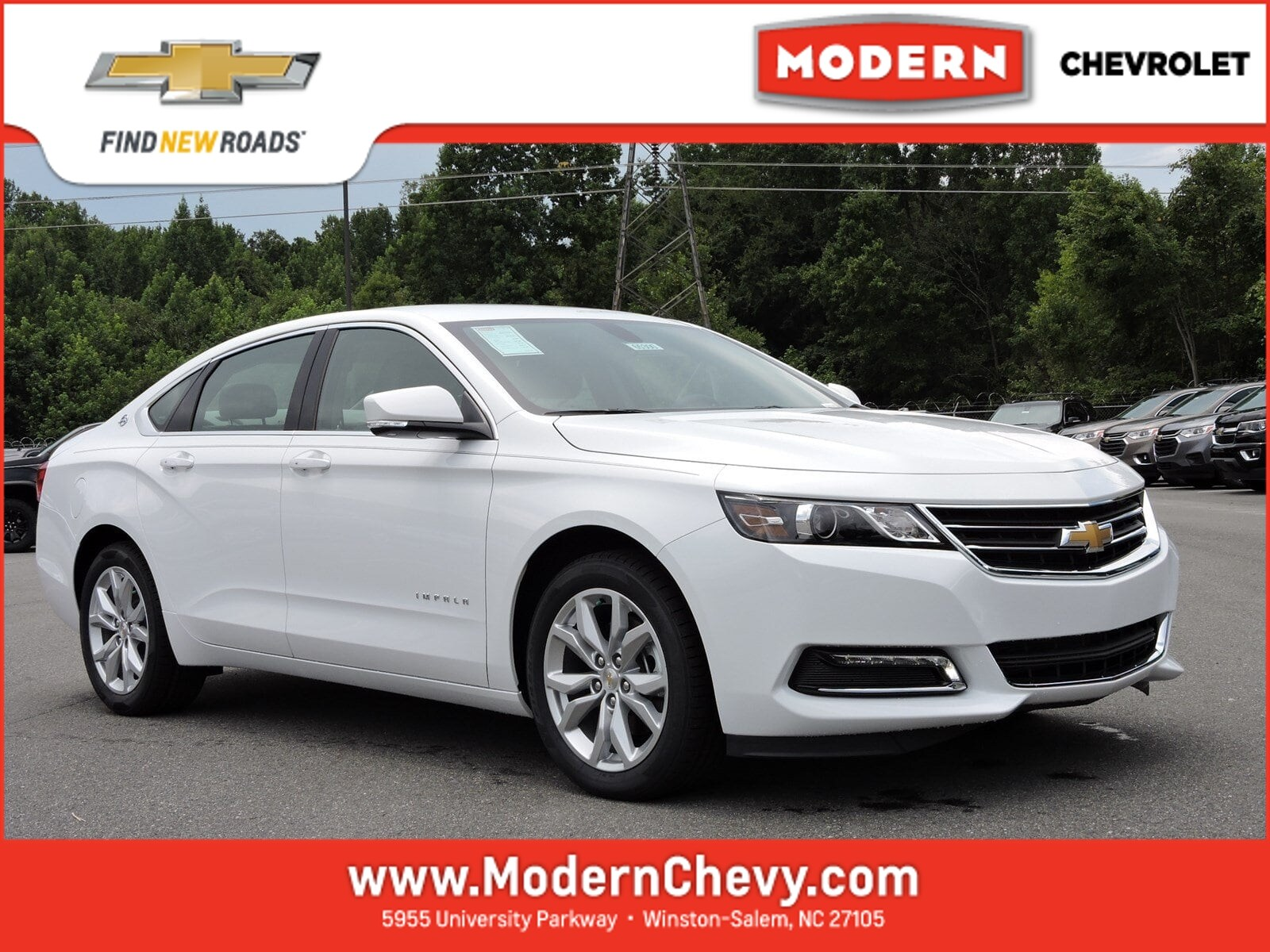 New 2019 Chevrolet Impala For Sale Winston Salem NC