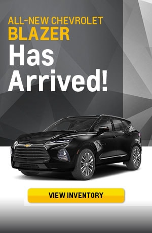 All New 2019 Chevrolet Blazer Has Arrived