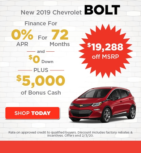 New 2019 Chevrolet Bolt