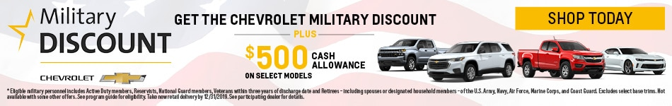 May| Military Discount