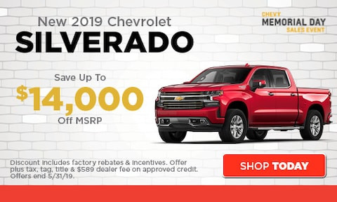 May | New 2019 Chevrolet Silverado