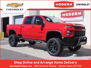 New 2021 Chevrolet Silverado 2500 HD Custom Truck Crew Cab Winston Salem, North Carolina