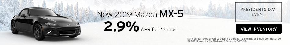 New 2019 Mazda MX-5