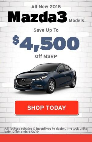 May | New 2018 Mazda3