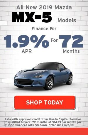 May | New 2019 Mazda MX-5