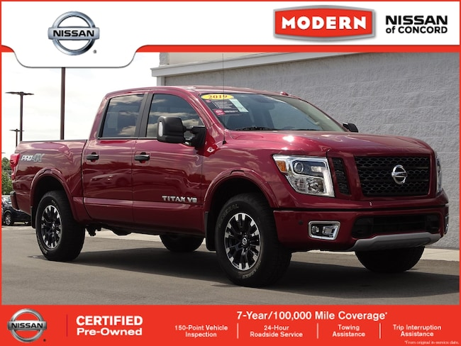 Certified 2019 Nissan Titan PRO Truck Crew Cab Concord NC