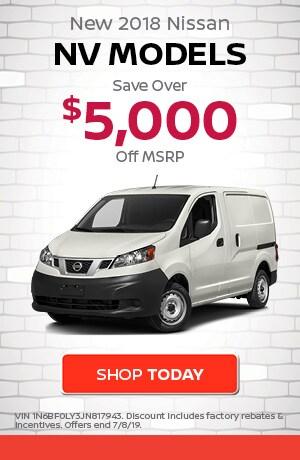 June   New 2018 Nissan NV Models