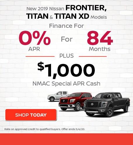 New 2019 Nissan Frontier, Titan & Titan XD Models