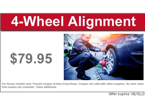 Nissan Service Coupons & Deals   Modern Nissan of Concord