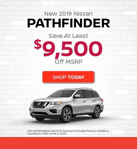 New 2019 Nissan Pathfinder