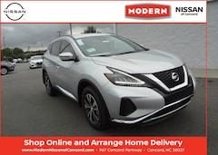 New 2020 Nissan Murano SV SUV Concord, North Carolina