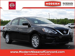 New 2019 Nissan Sentra SV Sedan Concord, North Carolina