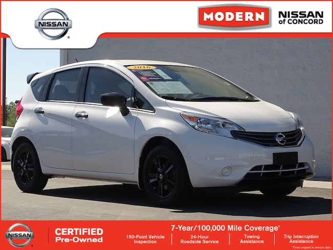 Certified 2016 Nissan Versa Note S Plus Hatchback Concord NC