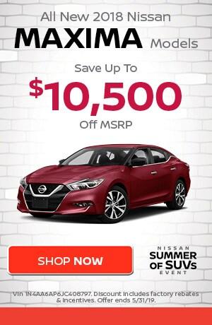 May | New 2019 Nissan Maxima