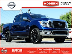 Certified Pre-Owned 2018 Nissan Titan SL Truck Crew Cab Hickory, North Carolina