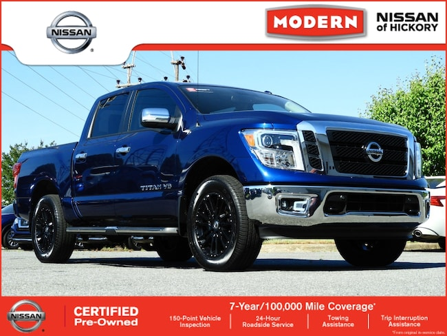 Certified Used 2018 Nissan Titan SL Truck Crew Cab Hickory, North Carolina