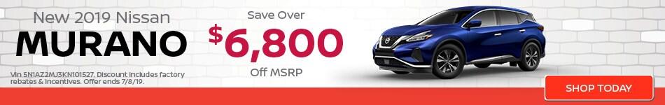 June | New 2019 Nissan Murano