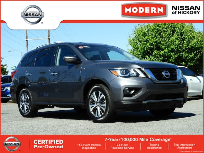 Certified Used 2018 Nissan Pathfinder SL SUV Hickory, North Carolina