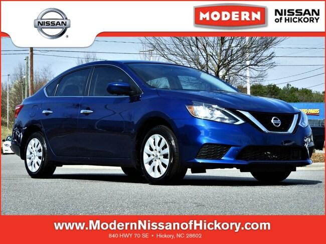 Certified Used 2019 Nissan Sentra S Sedan Hickory, North Carolina