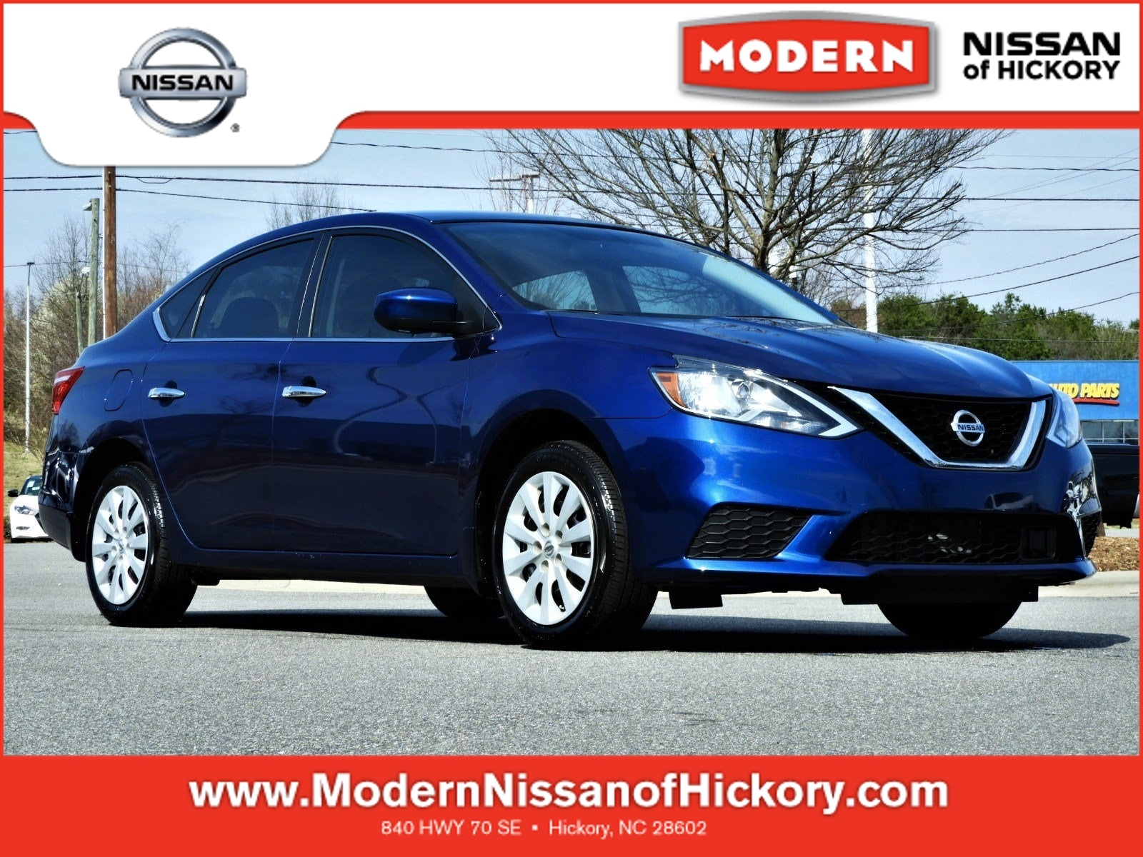 Certified Used 2019 Nissan Sentra S Sedan Hickory, North Carolina
