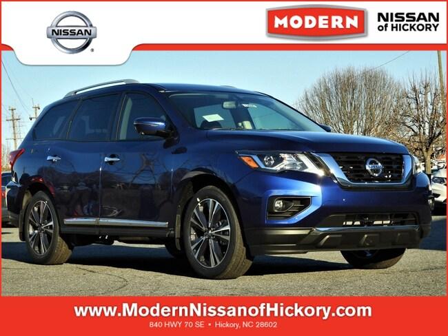 New 2019 Nissan Pathfinder Platinum SUV Hickory, North Carolina